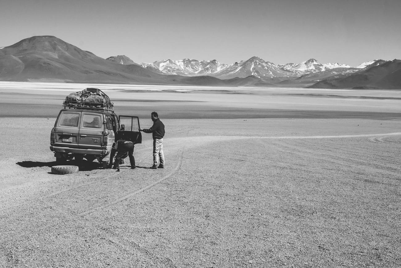 Bolivia in Black & White 11