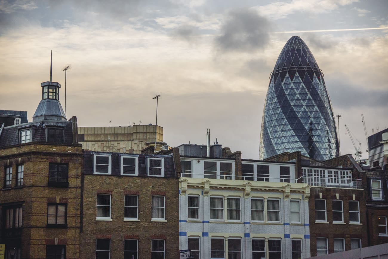 London photography - Gherkin